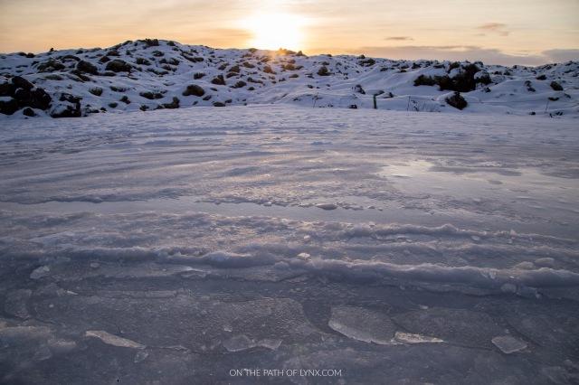 lava fields iceland laki on the path of lynx