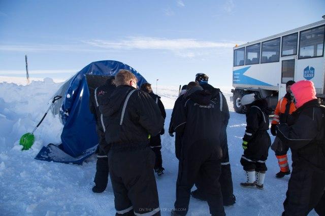 inside the glacier iceland snowmobiling onthepathoflynx langjokull glacier (60)